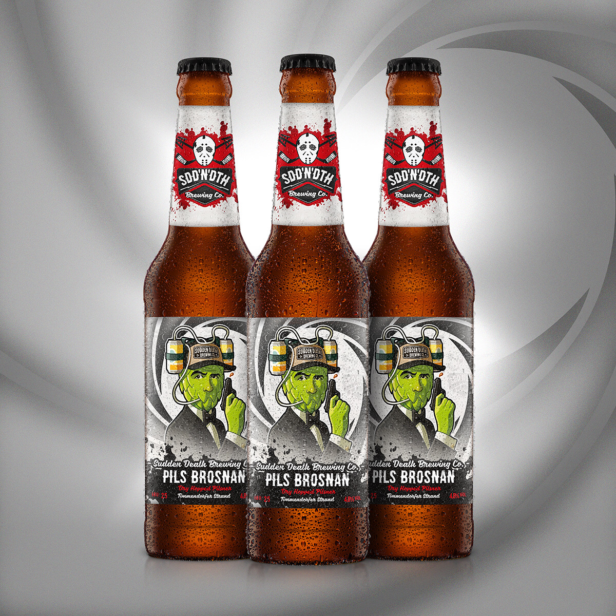 Sudden Death Pils Brosnan Craft Beer